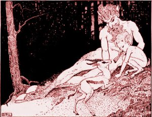 A type of fae being known as a faun